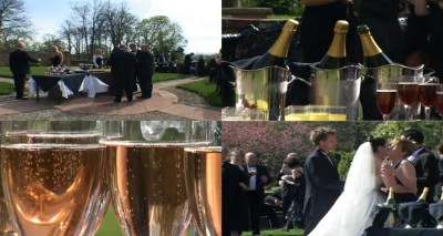 Weddings Lakedistrict at Dalston Hall - Champagne Collage at Dalston hall